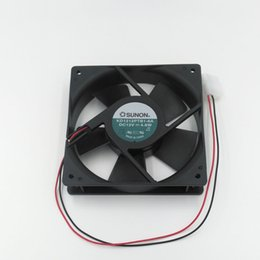 Discount computer cabinet fans - New Original SUNON KD1212PTB1 12V 4.8W 120mm*120mm*25mm Cooling Fan for Power Supply, Computer Case, Network Cabinet, In