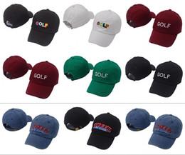 Tyler The Creator Golf Hat - Black Dad baseball Cap Wang Cross T-shirt Earl  Odd Future casquette for men women lit caps hats 924d6336a6cc