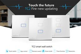 $enCountryForm.capitalKeyWord NZ - Wholesale-Original Broadlink TC2 1Gang 2Gang 3 Gang Touch Switch EU Standard,Smart Home Automation,Wireless Wifi Control Light Wall Switch