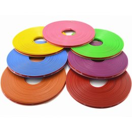 $enCountryForm.capitalKeyWord Canada - Hot Sale 8M Roll Car Wheel Hub Tire Sticker Car Decor Styling Strip Wheel Rim Tire Protection Car Covers Auto Accessories