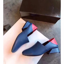 Collections Shoes Canada - JY02 Run Way Collection Easy Street Prim Pump Suede Leather High Heel Dress Office Lady Women Shoes Sz 35-39
