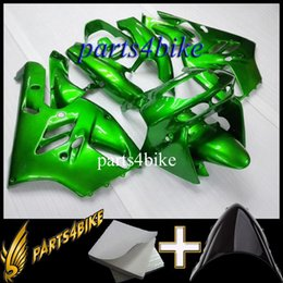 Chinese  Aftermarket Plastic Fairing for Kawasaki ZX9R 94 97 ZX-9R 1994-1997 94 95 96 97 green Motorcycle Body Kit manufacturers