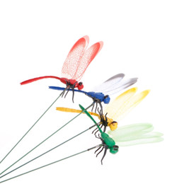Dollhouse Colorful Dragonfly Artisan Crafted for Doll House Miniature Garden