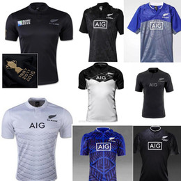 9bf70361dd6 NEW 2017 Zealand RUGBY jersey 15 16 17 18 Top Thailand quality RWC NRL  Super RUGBY home and away All blacks Shirts Free Shipping ...