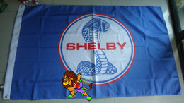 Banner sizes print online shopping - shelby flag shelby banner X150CM size polyster polyester cm Digital Printing