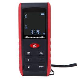 Digital Laser Entfernungsmesser Winkelanzeige Laser Entfernungsmesser Entfernungsmesser 40/60/80 / 100M Bereich im Angebot