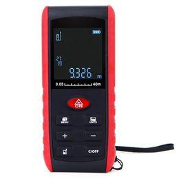 Großhandel Digital Laser Entfernungsmesser Winkelanzeige Laser Entfernungsmesser Entfernungsmesser 40/60/80 / 100M Bereich