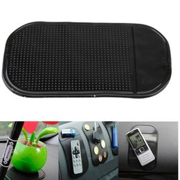car slip holder 2019 - Wholesale- 4Pcs Universal Car Dashboard pad Anti-slip Mat for phone pad GPS Sticky mats in the car phone holder for phon