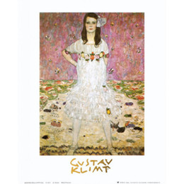 gustav klimt paintings NZ - Handmade Gustav Klimt artwork Reproduction Mada Primavesi oil painting canvas High quality Wall decor