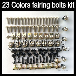 Chinese  Fairing bolts full screw kit For HONDA CBR600RR 03 04 05 06 CBR600 RR CBR 600 RR 2003 2004 2005 2006 Body Nuts screws nut bolt kit 25Colors manufacturers