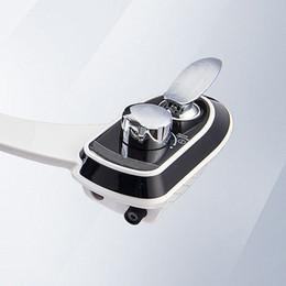 Ingrosso toilette portatile bidet ugello clistere, senza elettricità doccia bidet flussatore di testa femminile, lusso Retractable Smart Bidet spray, J17123