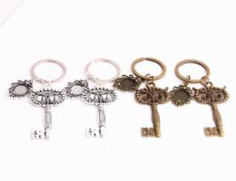 $enCountryForm.capitalKeyWord NZ - SWEET BELL 3pcs lot Metal Alloy Zinc Key Chain Fit Round 12.5mm Cabochon Base Owl Key Charm Pendant Diy Jewelry Making C0892