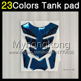 Cap 93 online shopping - 23Colors D Carbon Fiber Gas Tank Pad Protector For KAWASAKI NINJA ZZR400 ZZR ZZR ZZR600 D Tank Cap Sticker