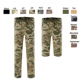 Red White Dresses Australia - Outdoor Woodland Hunting Shooting Battle Dress Uniform Tactical BDU Army Combat Clothing Quick Dry Shorts Camouflage Pants SO05-113