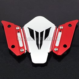 $enCountryForm.capitalKeyWord NZ - For YAMAHA FJ-09   MT-09 Tracer 2015-2016 Red Motorcycle Accessories CNC Windscreen Windshield Mounting Bracket New