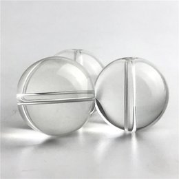 Glasses beads online shopping - New Glass Carb Cap for Quartz Smoking Nails Flat Top Domeless Quartz Nail OD mm Glass Beads Ball Caps Thick Glass Water Pipes