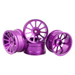 Purple Wheels Canada - RC Aluminum Wheel 4pc D:52mm W:26mm Fit HSP HPI 1:10 On-Road Drift Car Rim 125P