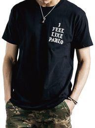 $enCountryForm.capitalKeyWord Australia - I FEEL LIKE PABLO Cool T Shirts The Life of Pablo Kanye West Black Short Sleeve Print T-shirt