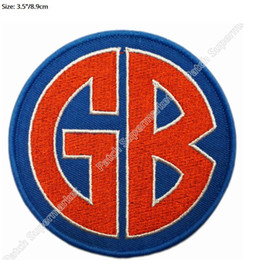 """$enCountryForm.capitalKeyWord NZ - 3.5"""" GORILLA BISCUITS gb Music Band Embroidered Iron On Patch Tshirt TRANSFER MOTIF APPLIQUE Rock Punk Badge Hats"""