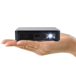 Data show Dlp projector online shopping - HDP200 Black pocket led mini projector mini projetor led full hd for airplay miracast wireless data show beamer