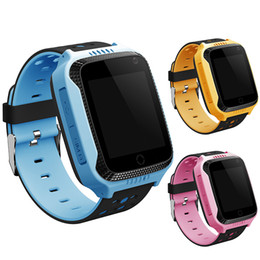 $enCountryForm.capitalKeyWord UK - Wholesale- Children GPS Kids Smart Watch Wristwatch with camera GPS Safety Tracker SOS Call Anti Lost 1.44 Inch Screen For Android Phone