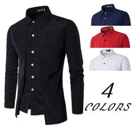 Mens Fashion Shirts Long Sleeve Slim NZ | Buy New Mens Fashion ...