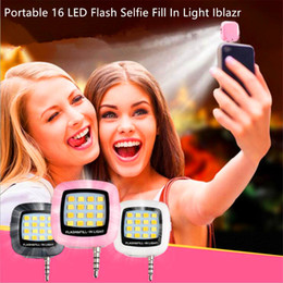 $enCountryForm.capitalKeyWord NZ - Portable 16 LED Flash Selfie Fill In Light Iblazr Selfie Lens Sync Flashlight For iPhone Galaxy IOS 6.0+ Android 4.0+ WP8.0 With Package