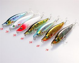 Fishing Lures For Bass NZ - Fly Fishing lures hooks 9cm 16g Leader Sinking Crankbait ABS plastic simulation Laser hard Baits for bass fishing