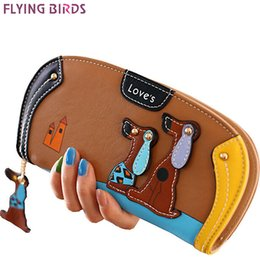 $enCountryForm.capitalKeyWord Australia - Wholesale- FLYING BIRDS! women leather wallets dollar price women's purse 2016 new card holder coin purse summer style bag ladies LM3091fb