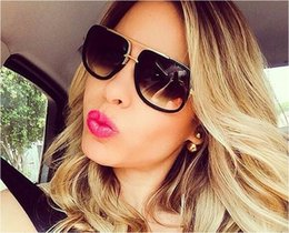 $enCountryForm.capitalKeyWord Canada - Newest Unique Women Sunglasses Square Glasses Vintage Big Frame Sun Glasses Acetate Shades Gradient Eyeglasses UV400