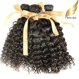 $enCountryForm.capitalKeyWord Canada - 8A100% Peruvian virgin human hair 3pcs lot Curly hair weaves hair extensions Double Weft DHL Free shipping Bellahair natural color