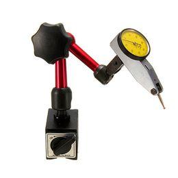 Ingrosso nuovo mini supporto universale flessibile a base magnetica per strumento indicatore test quadrante