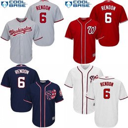 2017 rendon jersey washington youth washington nationals 6 anthony rendon white grey red coolbase ch