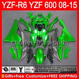 $enCountryForm.capitalKeyWord Canada - gloss green 8gifts For YAMAHA YZF R6 08 09 10 11 12 13 15 YZF600 YZF-R6 86NO78 YZFR6 2008 2009 2010 2011 2012 2013 2015 green black Fairing
