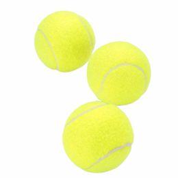 Toptan-Dayanıklı Açık Spor Tenis Eğitimi Öğrenme Egzersiz Yüksek Elastikiyet Tenis Topları Eğitim İçin