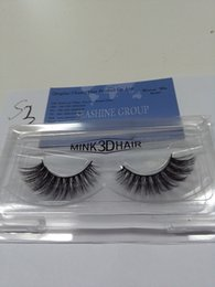 Making False Eyelashes Canada - New 10 Pairs Handmade 3D False Eyelashes Extensions Popular Wholesale Price 3D Eye Lashes Strips for Make Up Beauty