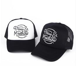 1626d614149506 Deus Ex Machina Baylands Trucker Snapback Caps Black MOTORCYCLES Mesh  Baseball Hat Sport Palace Drake 6 God Pray Ovo October Cap bone gorras