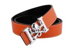 $enCountryForm.capitalKeyWord Canada - Mens belts luxury Slim Vintage Classic Jean Smooth Skull Buckle Belts Business Casual Black ceinture homme