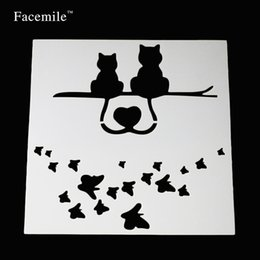 $enCountryForm.capitalKeyWord NZ - Gifft Facemile animals Butterfly fondant Cake Stencil Cupcake wedding Decorating Template Mold Baking Accessories