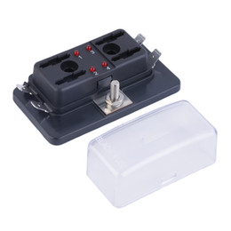 blade fuse box UK - 4 6 10 Way Circuit Car Automotive ATC ATO Fuse Box For Middle Size Blade