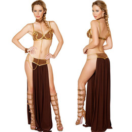 Barato Vestido De Cosplay Egito-Sexy Women Latin Belly Dance Costume Egito Indian Cosplay Dress Temptation Stage Halloween Party Costumes Pole Dancing Uniform