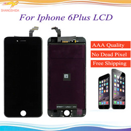 $enCountryForm.capitalKeyWord NZ - Display LCD For iPhone 6 Plus Front Assembly 5.5 inch 6P 6+ 6G+ LCD Display Touch Screen Digitizer Glass Replacement With Mid-frame
