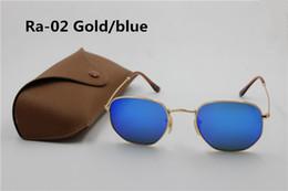 828b3143a6b 1pcs new style Brand Sunglasses Hexagonal Metal Sun Glasses irregular  personality Fashion Sunglasses 15 colors pink mercury silver green