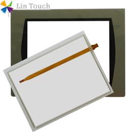 Wholesale NEW PanelView C1000 2711C-T10C 2711C-T10C B 2711C-T10B 2711C-T10T HMI PLC TouchScreen AND Front label Film Touch screen AND Frontlabel