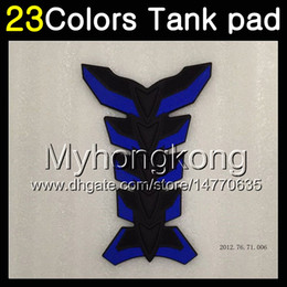 Cap 93 online shopping - 23Colors D Carbon Fiber Gas Tank Pad Protector For YAMAHA FZR250R FZR250 R FZR R FZR R D Tank Cap Sticker