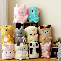 $enCountryForm.capitalKeyWord Canada - 13 Styles Baby Boy Girls Flannel Blankets Air Conditioning Knitting Blanket Baby Kids Nursery Bedding Cartoon Animal Blanket Free Shipping