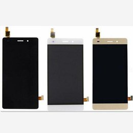 Gold Lcd Displays Canada - For Huawei P8 Lite Original New LCD Display Touch Screen Digitizer Replacement White Gold Black Color Fast Shipping