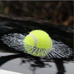 3d ball window sticker 2019 - Wholesale- Funny 3D Car Sticker Cute Ball Decals Spider Web Tennis Baseball Basketball Football Shape Window Paster Deco