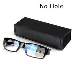hole video 2019 - 1080P Glasses DVR mini camera No Hole Eyewear Camera Eyeglass DVR Mini DV Video Recorder Portable Mini Camcorder free sh