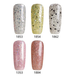 Barato Uv Esmaltes De Rosa Quente-Atacado- Modelones Gorgeour Light Series Set UV Gel de unha Pink Pink 1 Pcs para Soak Off UV Glitter Gel de unha Hot Sale Color UV Gel Polish